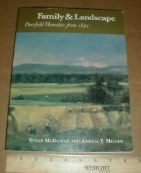 Deerfield Franklin County Ma Massachusetts Early Land Home Lots Pocumtuck Valley