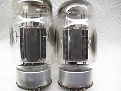 Kt88 Genalex  Platinum Matched Pair,made In Uk 71/74 Usiemens Tv7 Tested