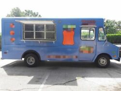 Self-Sufficient Chevy Food Truck  Vintage Mobile Food Unit for Sale in Florida-