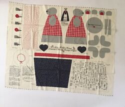 Concord's Molly Mouse Handy Sewing Helper Cut And Sew By Joan Kessler 33 X 45