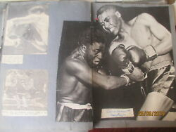 Vintage Boxing Scrapbook Compiled Late 1930s- Early 1950s Jake Kilrain Autograph