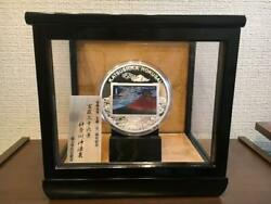 Hokusai Katsushika 250th Anniversary Limited 500 Pure Silver Coin With Case F/s