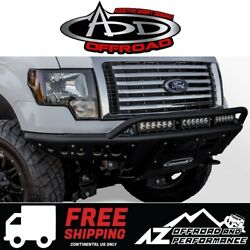 Add Stealth R Winch Front Bumper Black For 2009-2014 Ford F150 Truck