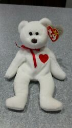Valentino Beanie Baby With Errors-origiinal Suface 93/94 P.v.c. Pellets