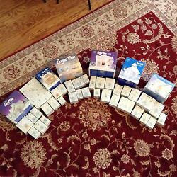 Precious Moments Sugar Town Six Complete Sets 40 Pieces Collectable Christmas