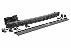 Rough Country 30 Single Row Curved Led Light Bar   Cree   12000 Lumens  