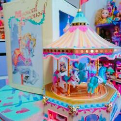 Tin Merry Go Round Fiftyand039s Co 1988 Vintage Girls Toy Retro Free Shipping From Jp