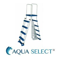 .aqua Select A-frame Ladder W/ Removable Steps For Swimming Pools Various Size