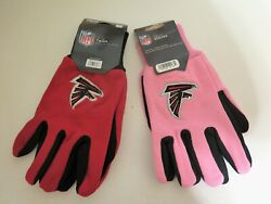 Two Pair Of Atlanta Falcons Sport Utility Gloves From Forever Collectables