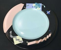 Swid Powell 12andrdquo Charger/ Dinner Plate Andldquoplanarandrdquo By Steven Holl