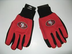 Two Pair Of San Francisco 49ers Sport Utility Gloves From Forever Collectables