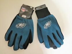 Two Pair Of Philadelphia Eagles Sport Utility Gloves From Forever Collectables