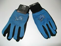 Two Pair Of Detroit Lions Sport Utility Gloves From Forever Collectables