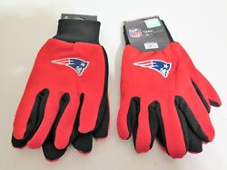 Two Pair Of New England Patriots Sport Utility Gloves From Forever Collectables