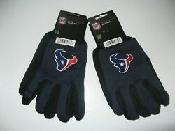 Two Pair Of Houston Texans Sport Utility Gloves From Forever Collectables