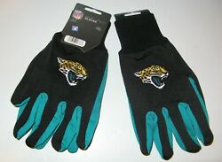 Two Pair Of Jacksonville Jaguars Sport Utility Gloves From Forever Collectables