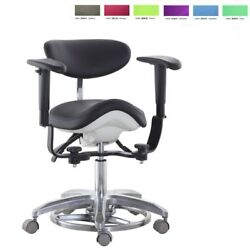 Microscope Dynamic Chair Saddle Chair Dentist Chair Medical Seat Foot Controlled