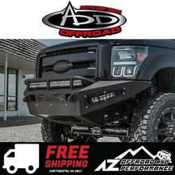 Add Honeybadger Front Bumper For 11-16 Ford Super Duty F250 F350