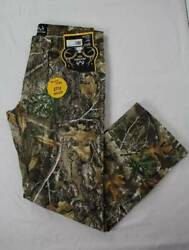 Mens Realtree Edge Jeans Size 38 - 30 Camouflage Pants Deer Hunting Bow Outdoors