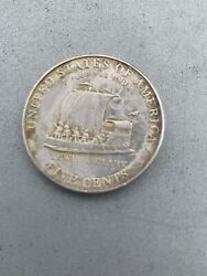 2004 P Keelboat Lewis And Clark Jefferson Nickel Coin Uncirculated