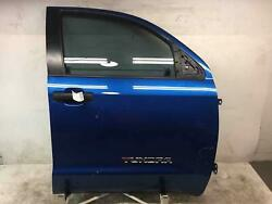 2007 - 2018 TOYOTA TUNDRA LEFT FRONT DRIVER SIDE DOOR SHELL W/O AUTO UP DOWN
