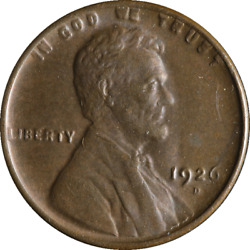 1926-d Lincoln Cent Great Deals From The Executive Coin Company - Bbsc22230
