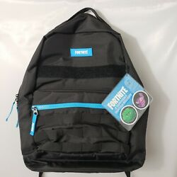 Fortnite Spectrum Black Backpack 2 Patches Brand New Nwt