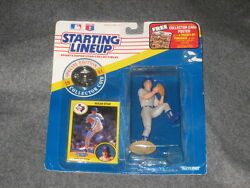 Nolan Ryan 1991 Starting Lineup Figure Sealed In Package W Card And Coin Creased