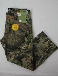 Mens Mossy Oak Break Up Country Jeans Size 38 - 32 Camouflage Pants Deer Hunting