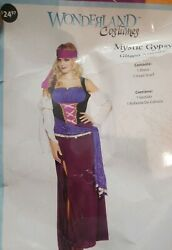 Discontinued Rare Sexy Womens Mystical Charmer Bohemian Gypsy Costume Dress New