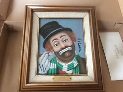 Limited Edition Canvas Reproduction Of An Original Oil Painting By Red Skelton