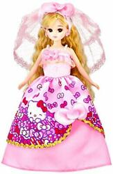 Rika chan doll LD-13 hello kitty love wedding dress Licca-chan