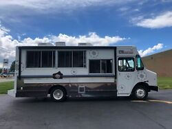 2009 24' Workhorse Diesel Food Truck in Very Good Shape with Pro Fire Suppressio