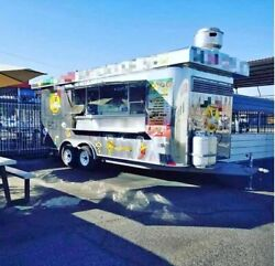Used 2013 24and039 Multi-functional Food Concession Trailer / Mobile Kitchen Unit For