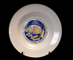La Pasta By Saturnia Porcelain Large Past Bowl 13 3/4 Made In Italy