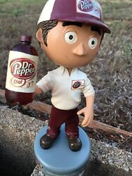 Extremely Rare Diet Dr Pepper Bobblehead Pepsi Coca Cola Charity Red Pandas