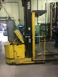 Yale 3000 Lbs. Stand Up Forklift W/24 Volt Battery