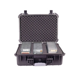 Graded Card Storage Box Heavy Duty Weatherproof Case Slab Holder And Protector