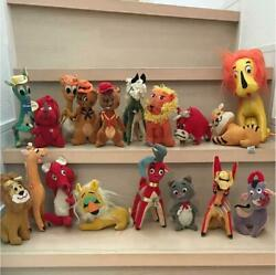 Dream Pets Set Japanese vintage 16 stuffed animals Japan made Original Rare FS