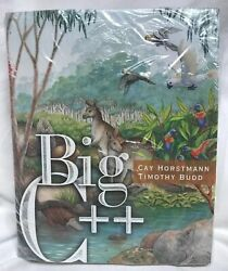 New Sealed Big C++ Paperback By Horstmann Cay Budd Timothy Supplement Set