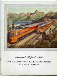 Chicago Milwaukee St Paul and Pacific Railroad Company 1946 Annual Report