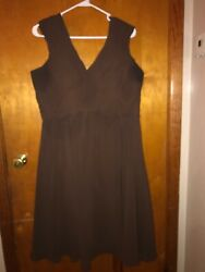 Women's Alexia Designs Bridesmaid Formal Dress Brown Size 22