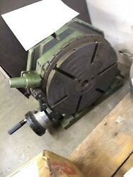 Enco 10 Vertical And Horizontal Rotary Table