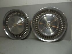 Vintage Cadillac Hubcaps 1960's 1970,s 15 1968 1969 1970 1967 Caddy