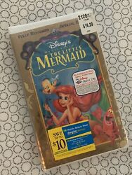 Walt Disney The Little Mermaid 1989 Masterpiece Collection Vhs Factory Sealed