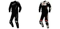 Alpinestars Motorcycle Atem Two Piece Leather Suit Pick Color And Size