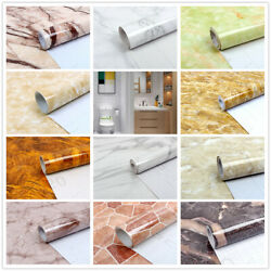 5M Marble Self adhesive Contact Paper Vinyl Peel And Stick Home Decor Wallpaper