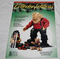 Collector Editions Magazine 1992 Figurines Cottages Prints Plates Antiques Glass
