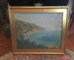 Vintage S. George Phillips New Hope School Impressionistic Oil Painting Canvas