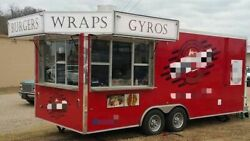 Well-Kept Self-Contained 2016 - 8.5' x 20' WorldWide Food Concession Trailer for